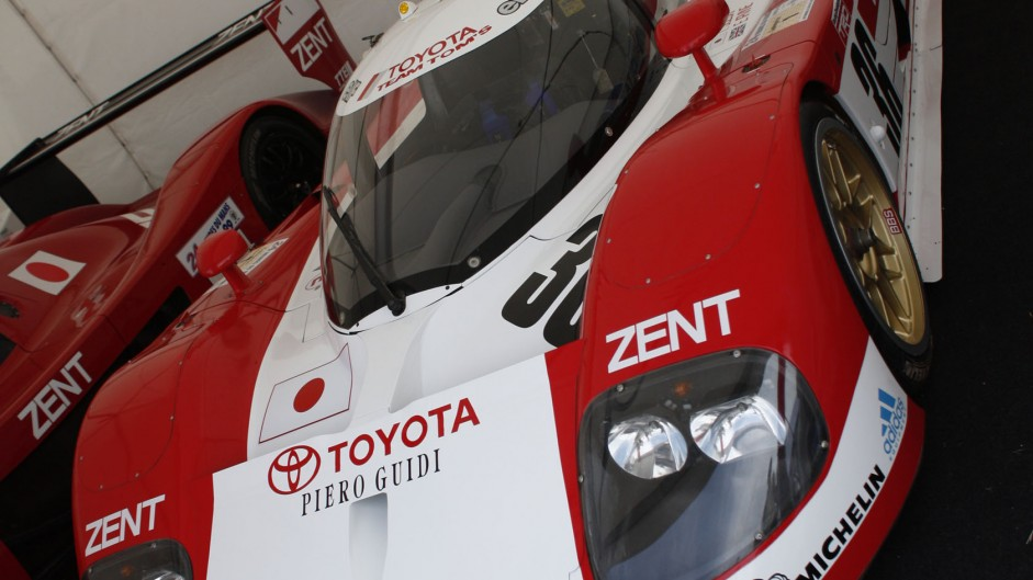 Toyota TS010, Goodwood Festival of Speed, 2014