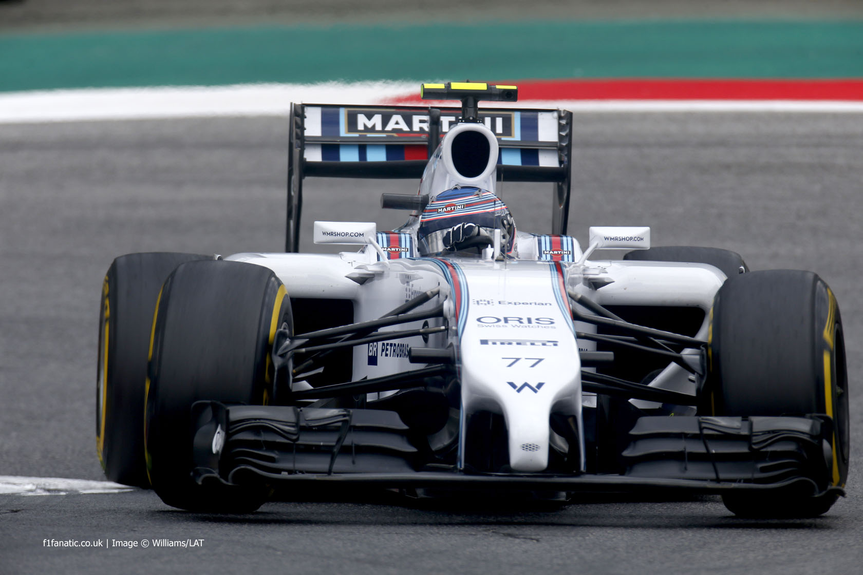 Valtteri Bottas, Williams, Red Bull Ring, 2014