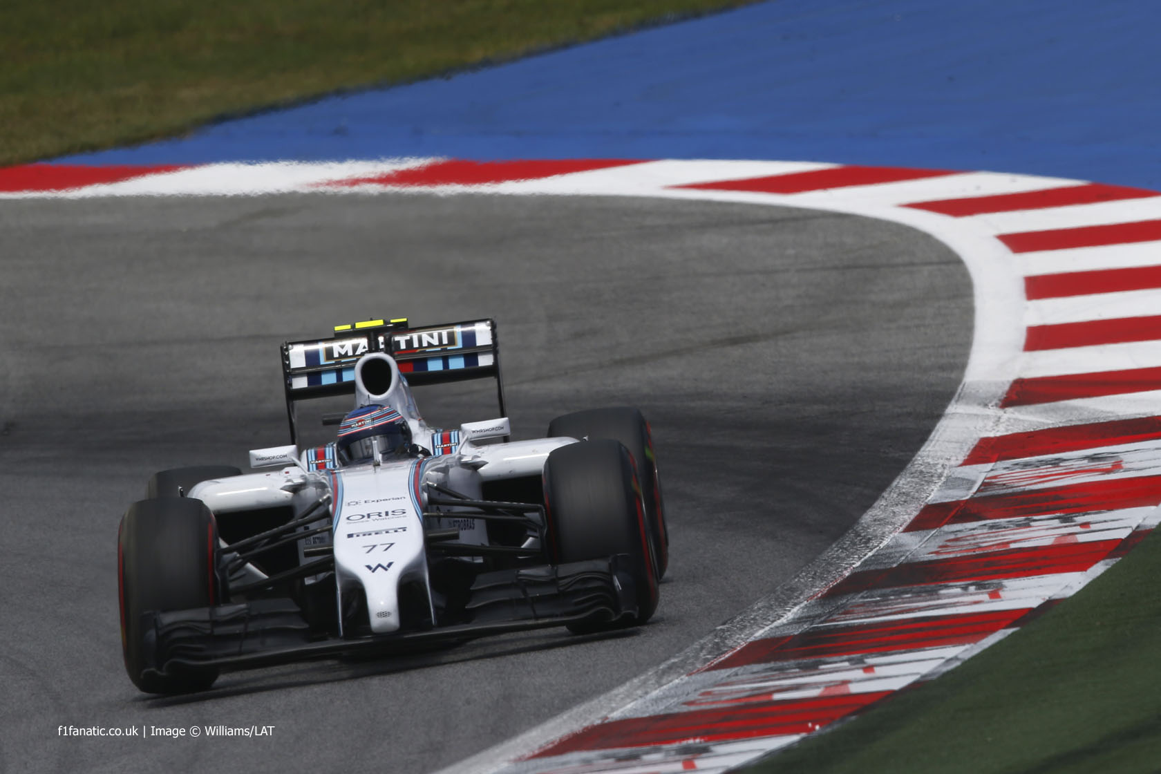 Valtteri Bottas, Williams, Red Bull Ring, 2014