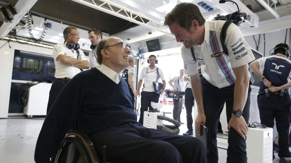 Frank Williams, Rob Smedley, Williams, Circuit Gilles Villeneuve, 2014