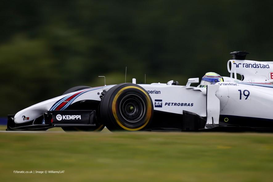Felipe Massa, Williams, Red Bull Ring, 2014