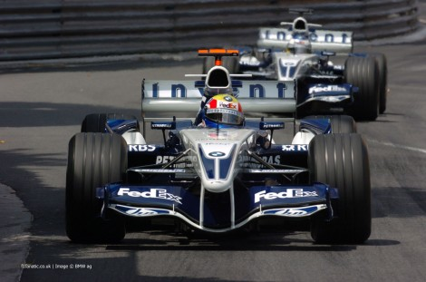 Mark Webber, Williams, Monaco, 2005