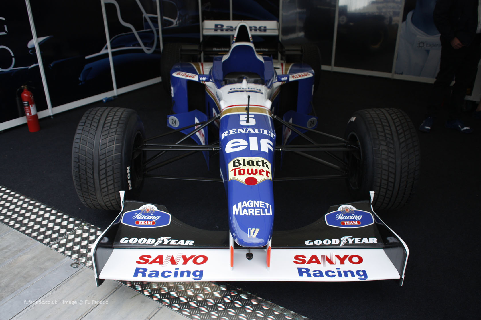 Williams FW18, Goodwood Festival of Speed, 2014