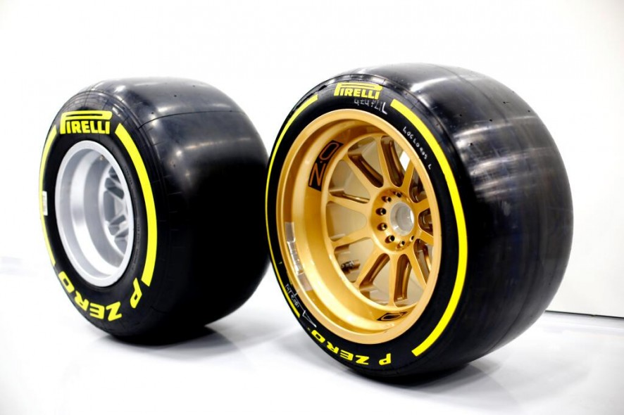 13-inch-and 18-inch F1 wheels