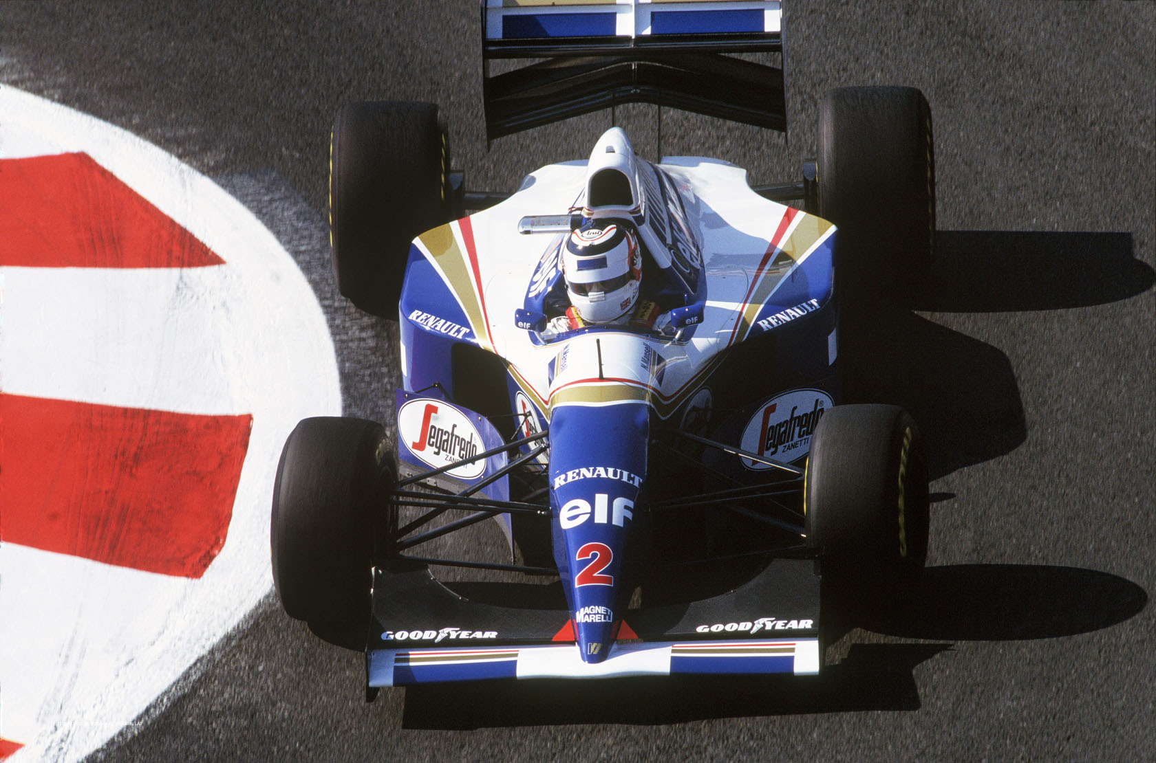 Nigel Mansell, Williams, Magny-Cours, 1994