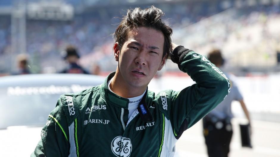 Kamui Kobayashi, Caterham, Hockenheimring, 2014