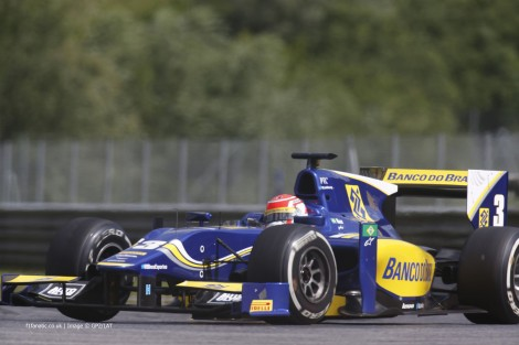 Felipe Nasr, Carlin, GP2, Red Bull Ring, 2014, 2