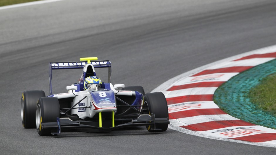 Jimmy Eriksson, Koiranen, GP3, Circuit de Catalunya, 2014