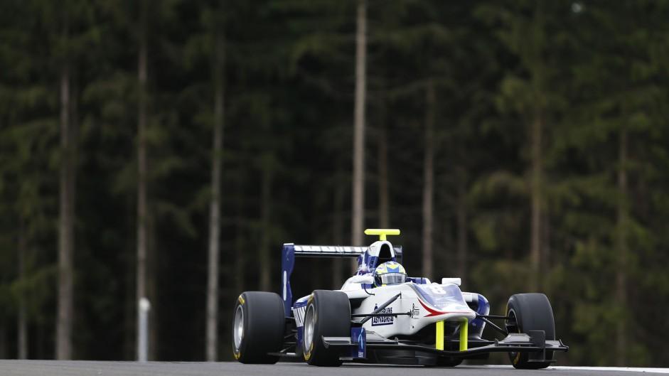 Jimmy Eriksson, Koiranen, GP3, Circuit de Catalunya, 2014, 2