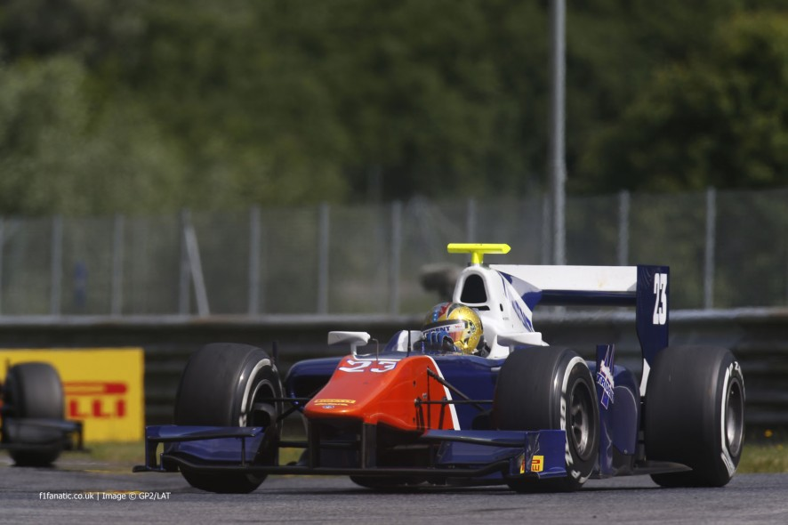 Johnny Cecotto Jnr, Trident, GP2, Red Bull Ring, 2014