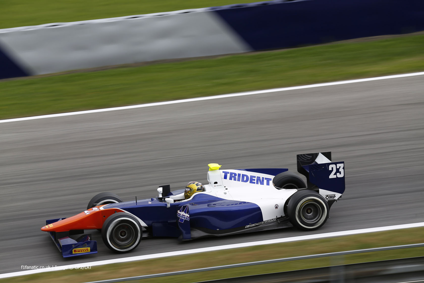 Johnny Cecotto Jnr, Trident, GP2, Red Bull Ring, 2014, 2