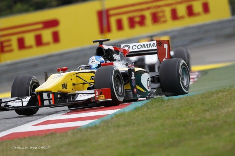 Jolyon Palmer, DAMS, GP2, Red Bull Ring, 2014, 2