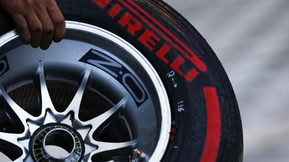 Pirelli super-soft tyre, Hockenheimring, 2014