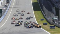 Start, GP2, Red Bull Ring, 2014