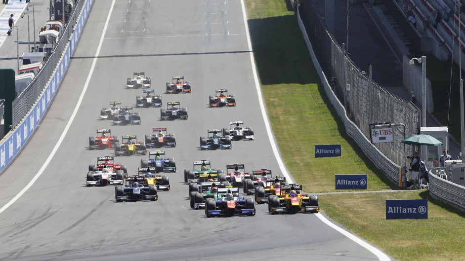 Live: 2014 Germany GP2 feature race