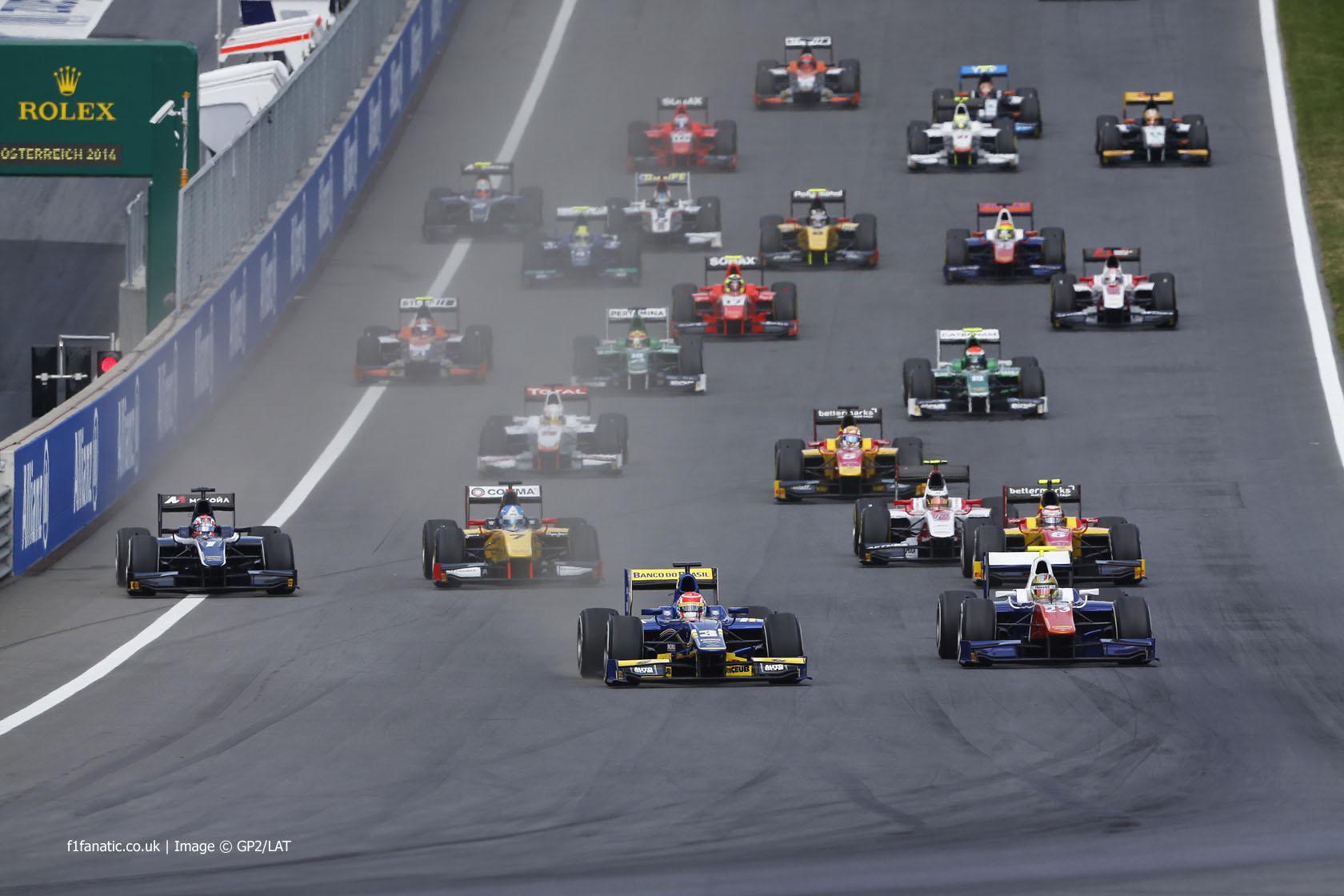 Start, GP2, Red Bull Ring, 2014, 2