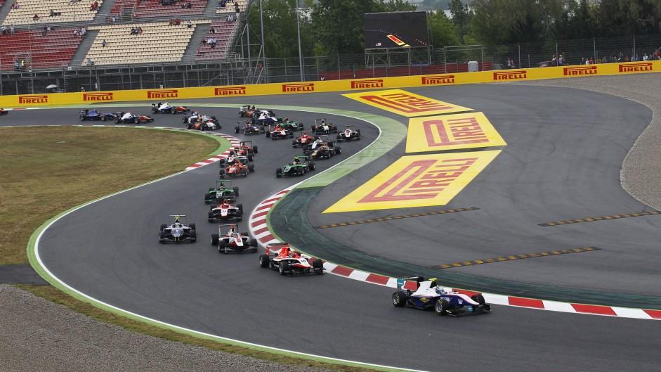 Start, GP3, Circuit de Catalunya, 2014