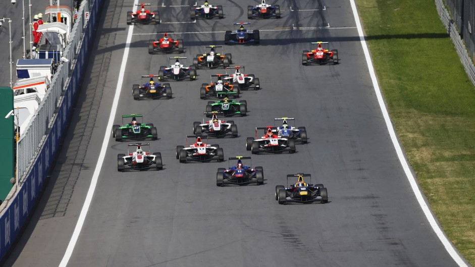 Start, GP3, Red Bull Ring, 2014