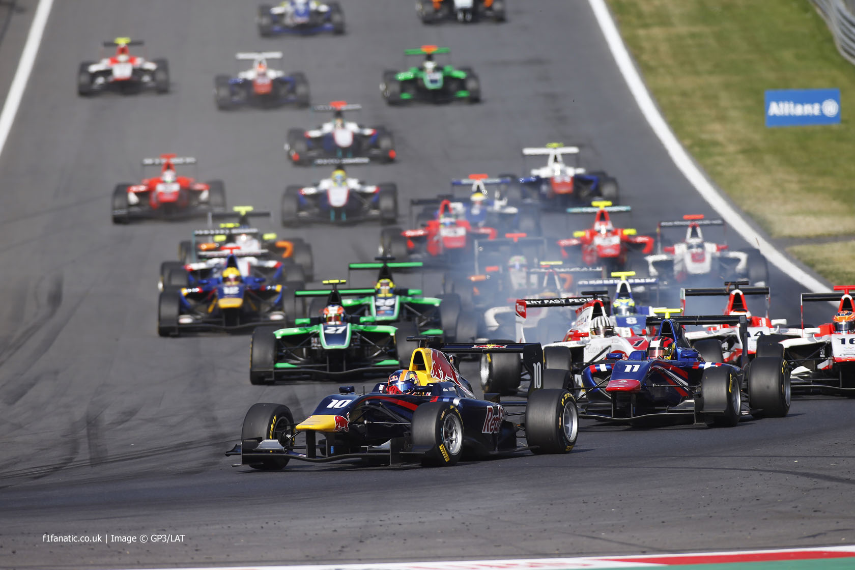 Start, GP3, Red Bull Ring, 2014, 2
