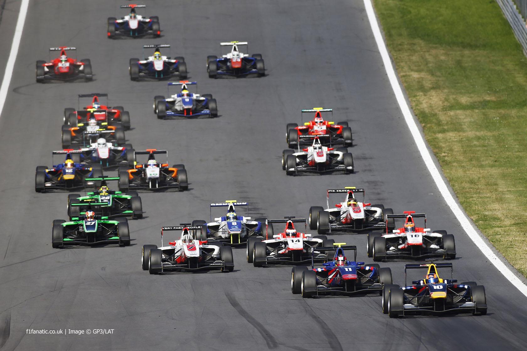 Start, GP3, Red Bull Ring, 2014, 3