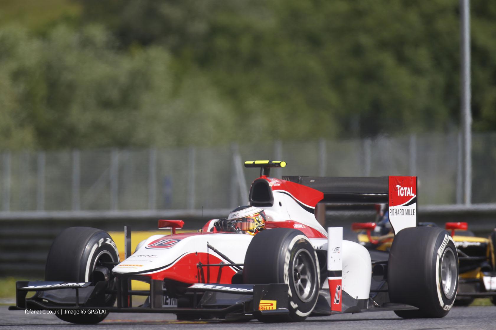 Stoffel Vandoorne, ART, GP2, Red Bull Ring, 2014, 2
