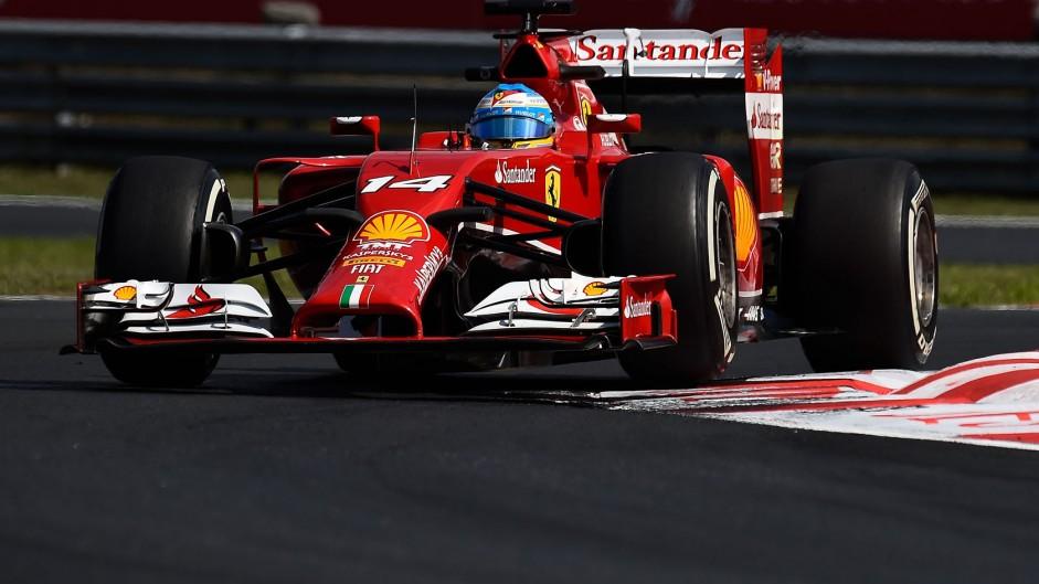 Fernando Alonso, Ferrari, Hungaroring, 2014