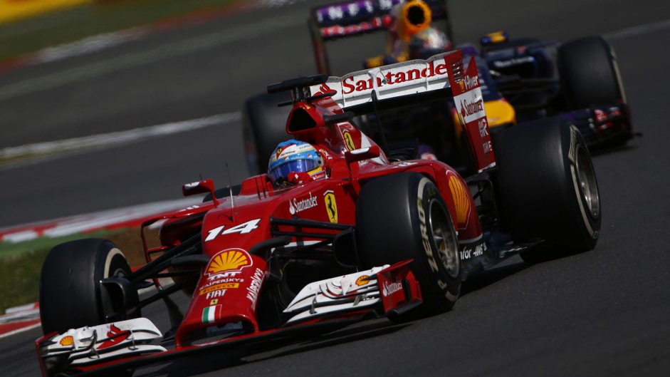 2014 British Grand Prix team radio transcript