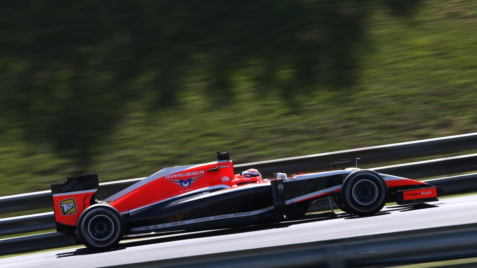 Jules Bianchi, Marussia, Hungaroring, 2014