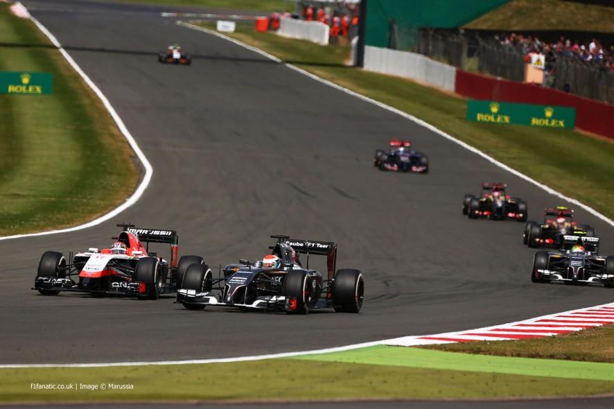 Jules Bianchi, Marussia, Silverstone, 2014