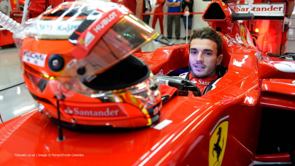 "Bianchi ready for ""logical step"" up to Ferrari"