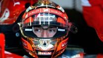 Jules Bianchi, Ferrari, Silverstone test, 2014