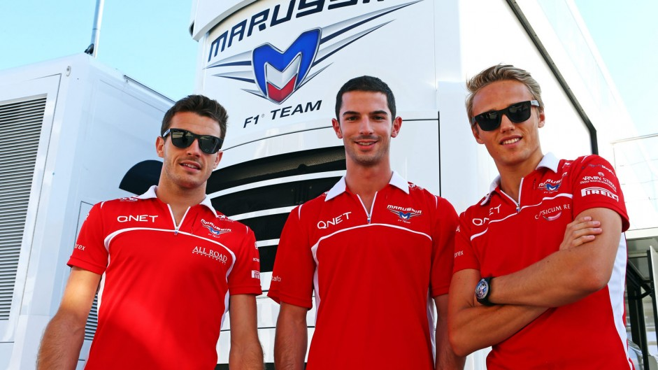 Marussia replace Chilton with Rossi for Belgian GP