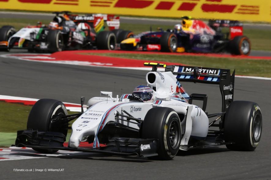 Valtteri Bottas, Williams, Silverstone, 2014