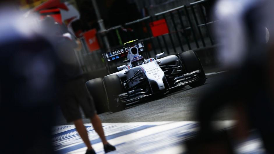 Valtteri Bottas, Williams, Hockenheimring, 2014