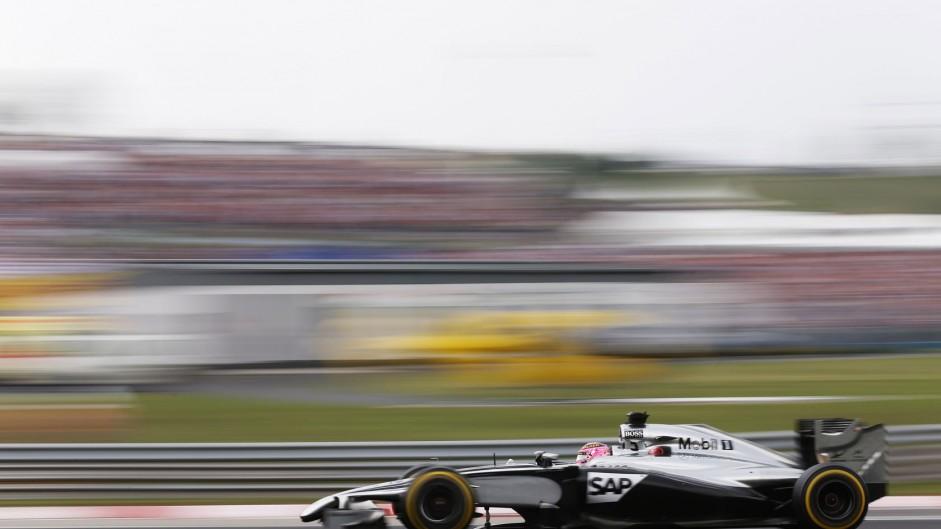 Jenson Button, McLaren, Hungaroring, 2014