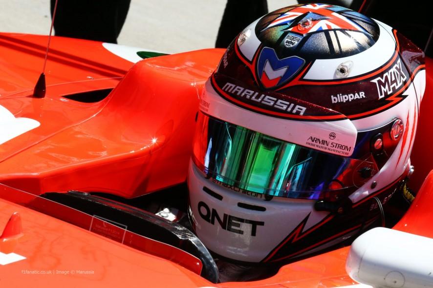 Max Chilton, Marussia, Hungaroring, 2014