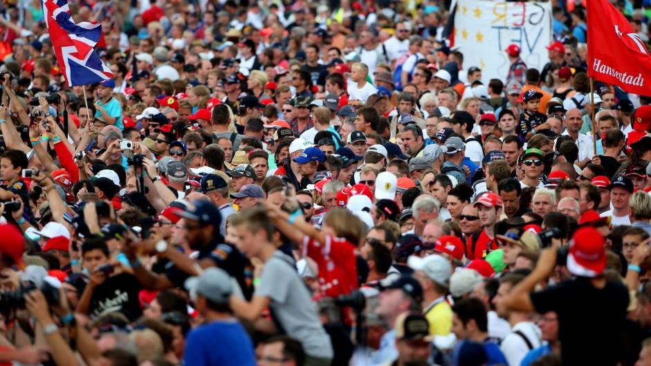 Fans, Hockenheimring, 2014
