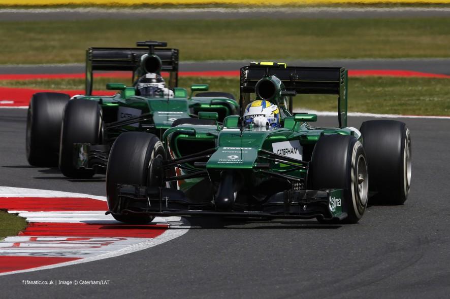 Marcus Ericsson, Caterham, Silverstone, 2014