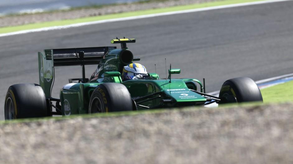 Marcus Ericsson, Caterham, Hockenheimring, 2014