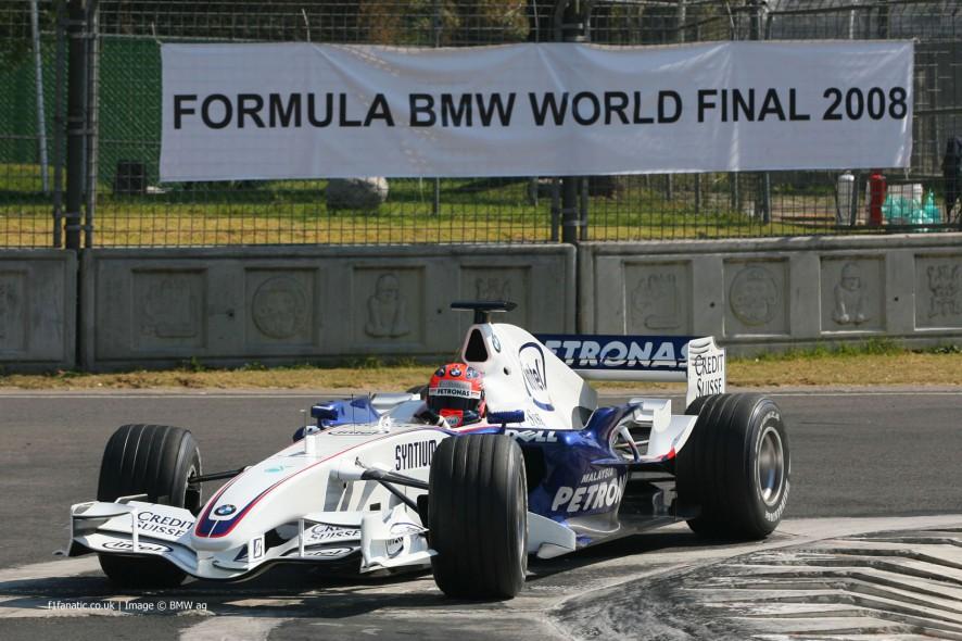 Robert Kubica, BMW, Autodromo Hermanos Rodriguez, 2008