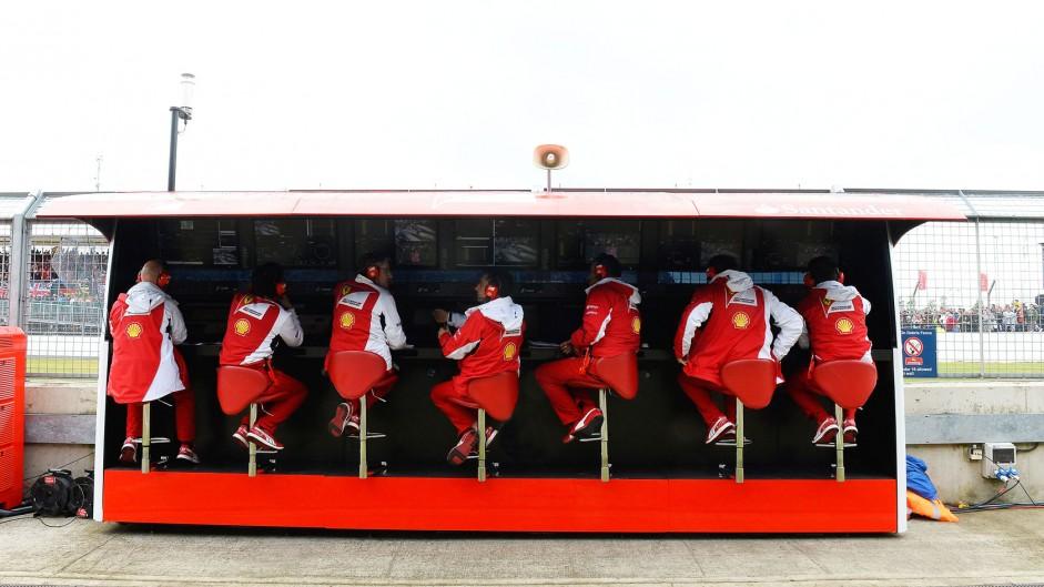 Ferrari, Silverstone, 2014