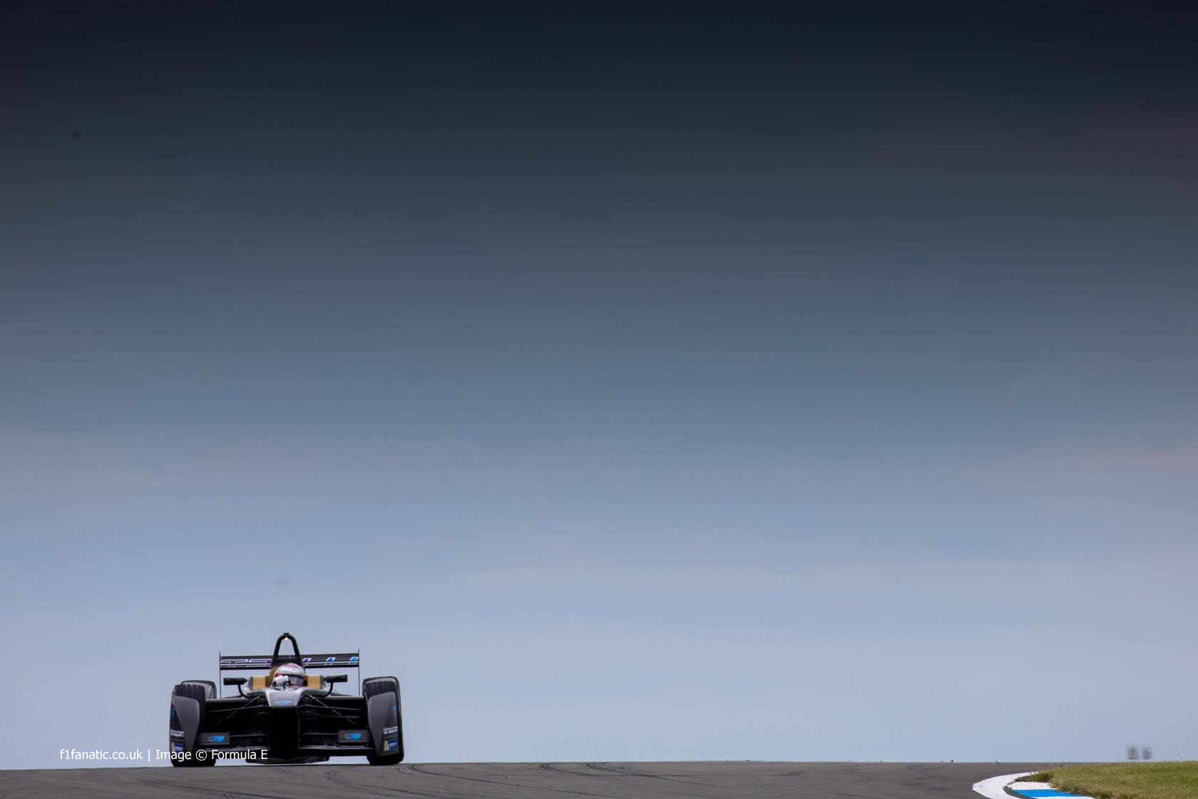 Formula E test, Donington Park, 2014
