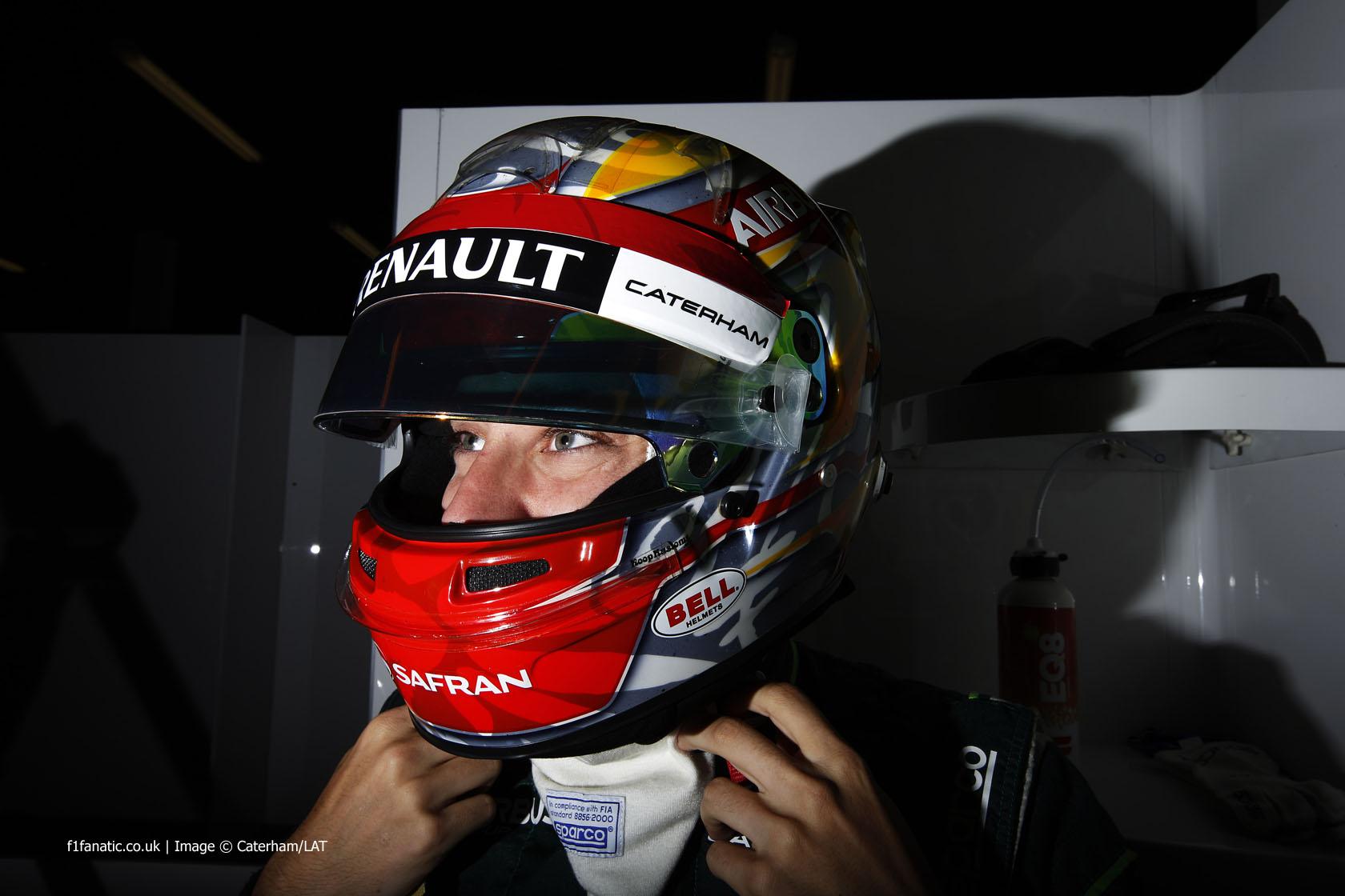 Robin Frijns, Caterham, Silverstone, 2014