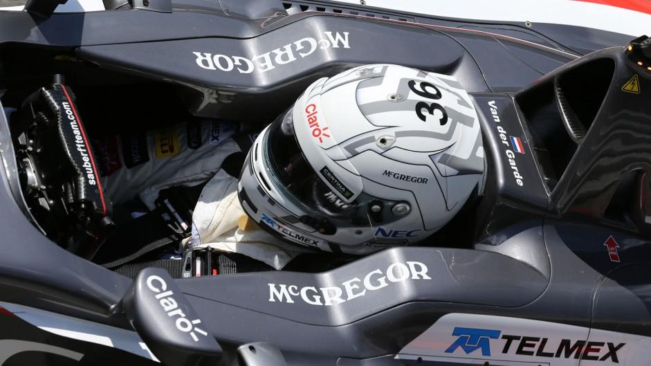 Giedo van der Garde, Sauber, Silverstone, 2014