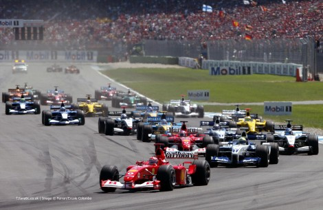 Start, Hockenheimring, 2002