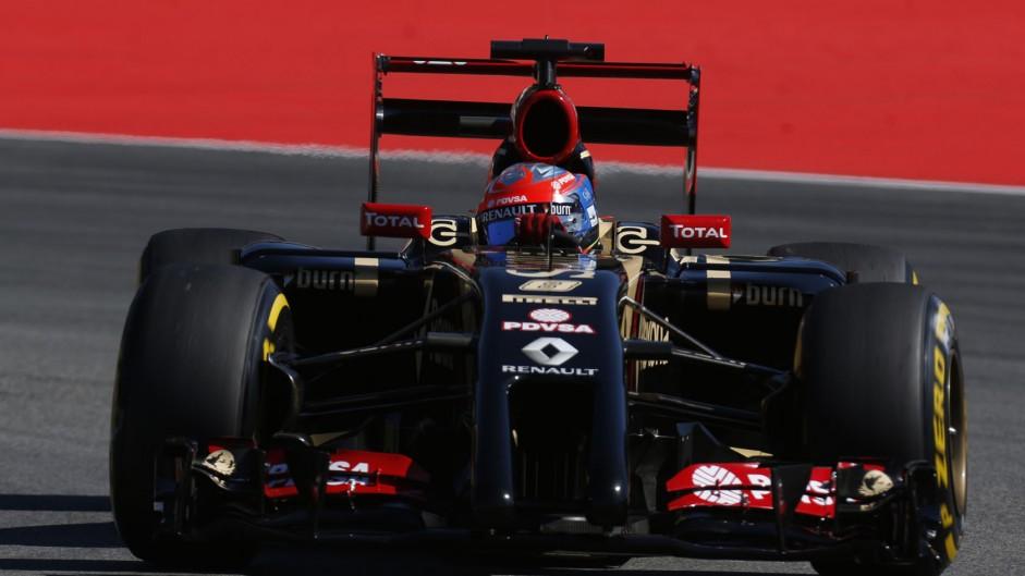Romain Grosjean, Lotus, Hockenheimring, 2014