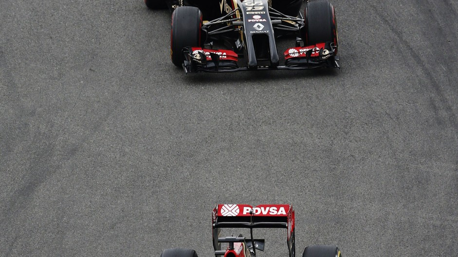 Romain Grosjean, Lotus, Hockenheimring, 2014