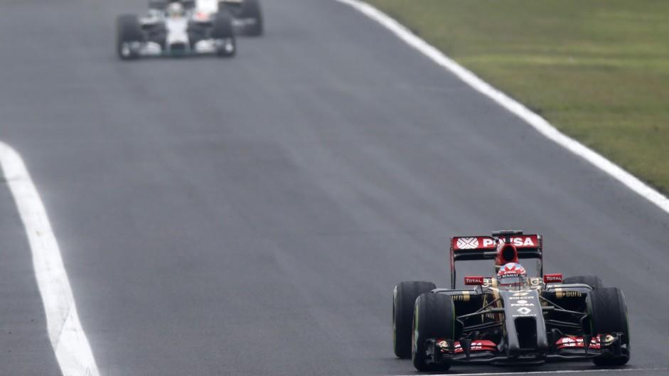 Romain Grosjean, Lotus, Hungaroring, 2014