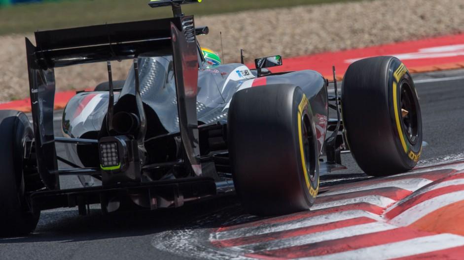 Esteban Gutierrez, Sauber, Hungaroring, 2014