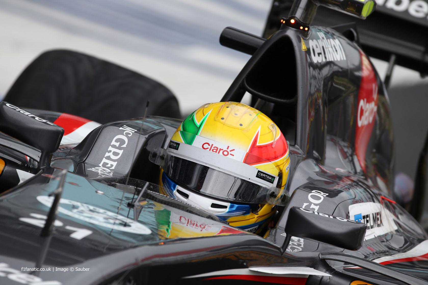 Esteban Gutierrez, Sauber, Silverstone, 2014